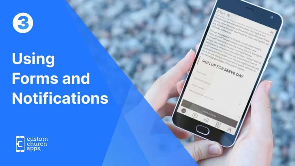 The Importance of Push Notifications and Forms