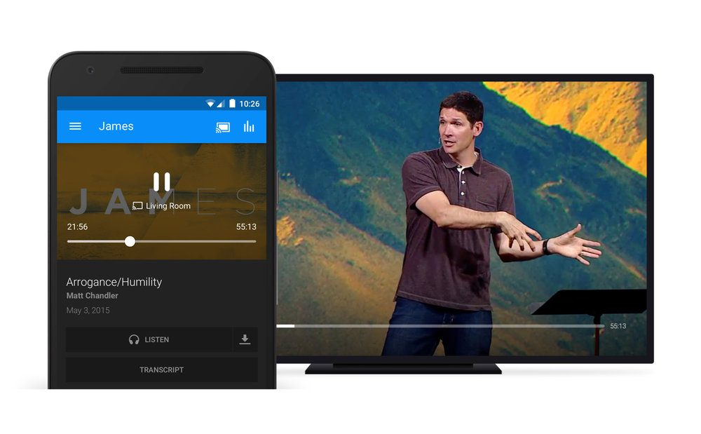 Google Cast and AirPlay Support